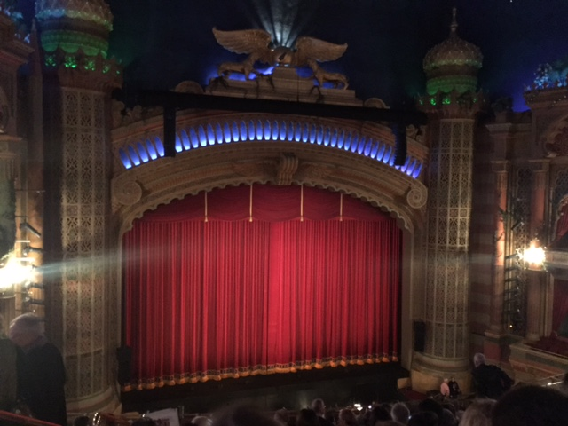 Civic Theater curtain