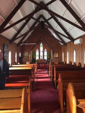 Inside paiks church