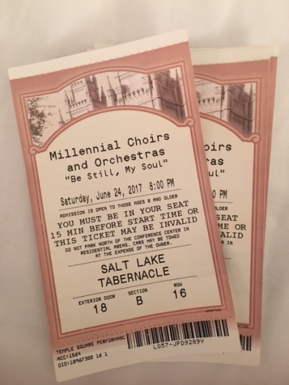 MCO SLC concert tickets