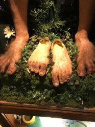 Bilboas prostectic feet at Weta Digital Museum