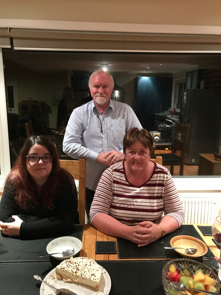 Craig, Julie and Emma Nairns - family in New Zealand
