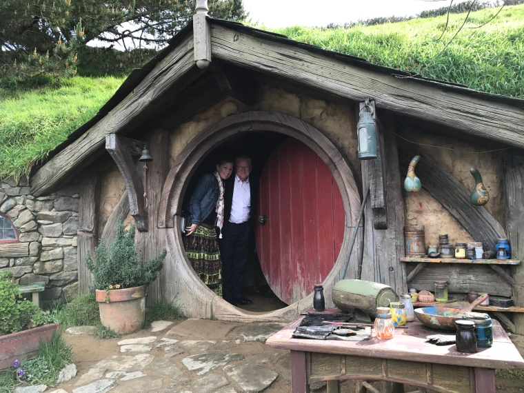 inside hobbit home
