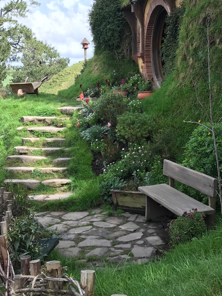 Steps to Baggins home