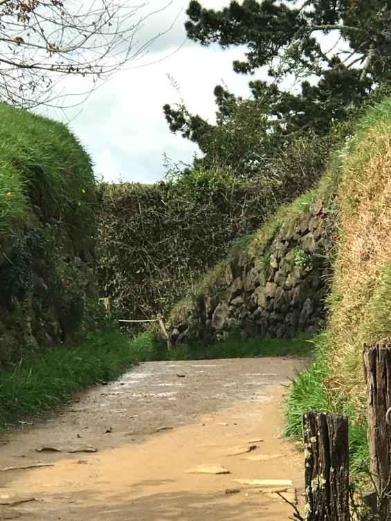 stone wall hobbiton
