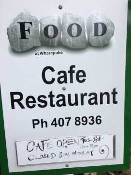 Wharepuke street sign