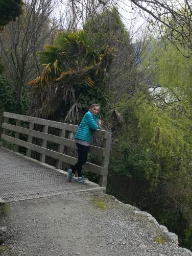 Christi Bridge riverwalk Queenstown