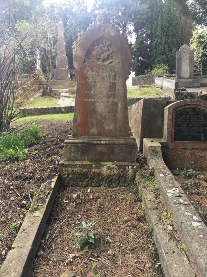 David Forsyth grave