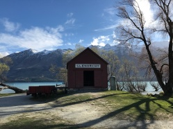 Glenorchy Barn by river