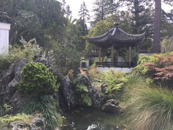 Japanese garden in Queens Garden in Nelson
