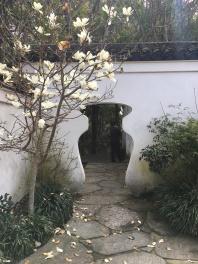 Japanese Gardens Nelson urn doorway