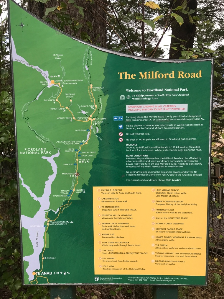 Milford Road Map