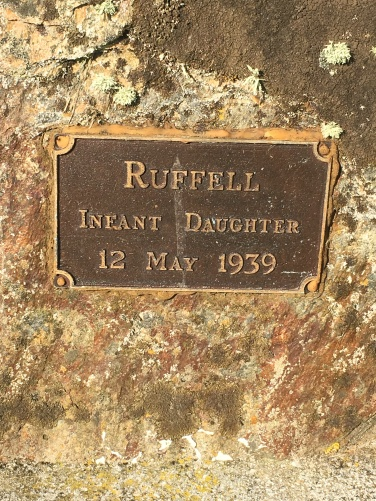 Balclutha Ruffell infant daughter