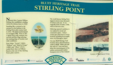 Bluff Stirling point