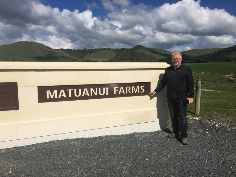 Farm Matuanui - one of Johns sons sold this to Bruce Wilson